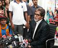 Amitabh Bachchan at the Press Meet of ''X Factor India''