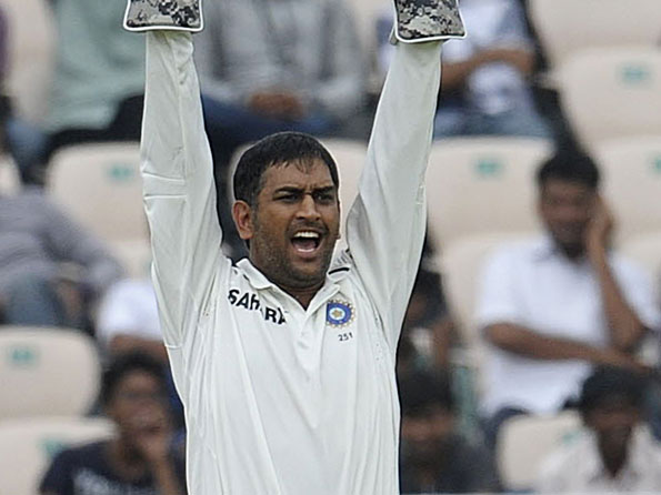 Mahendra Singh Dhoni's positive intent made a big difference at Hyderabad